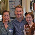 Lisa, Mark and Bridget Morse