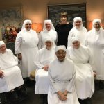 Amy Herman with Little Sisters of the Poor