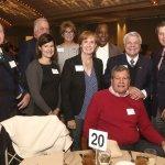 Cincinnati Works: (back) Patrick Lindsay, Kevin Rice, Cheryl Hillman, Mitch Morris; (front) Amanda Mangas, Peggy Zink, Bill Krul, Tom Dewey; (seated) Dave Herche