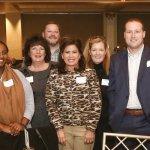 US Bank: (back) Kathleen Cave, Josh Arnold; (middle/front) Semhar Tsegay, Chris Bochenek, Julie Broadwell, Jennifer Powell, Chad McCarter, Christy Noll