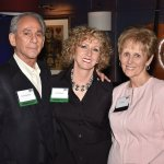 Bernard and Pamela Barbash with Sue Butler
