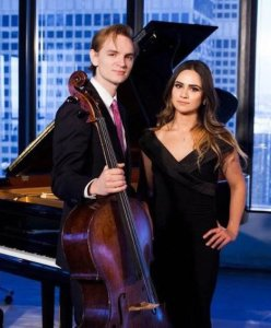 Cellist Coleman Itzkoff and pianist Alin Melik-Adamyan