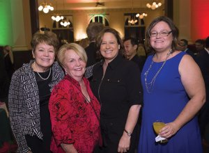 Sandy Davis, Barbara Bushman, Nancy Rademacher and Katie Feldman