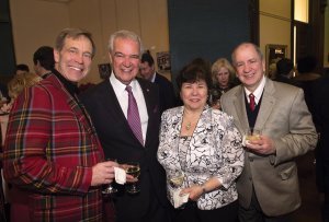 Tom Huston and Jim Sammarco with Marie and Bill Tsacalis