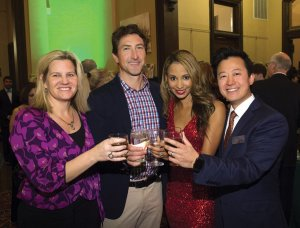 Suzanne and J. Carter McNabb with Angelique and Kaoru Suzuki