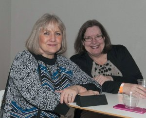 Teresa Harmeyer and Joanne Westwood