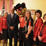 Tom and Marty Humes with Mary Ellen Betz, Neville and Jennifer Pinto, Buffie Rixey and Donna and Tony Perzigian