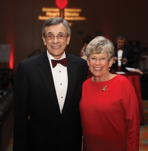 Heart of the City honorees James C. Votruba and Rachel M. Votruba