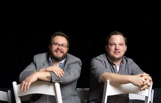 Chris Ashwell and Shawn Braley at The Woodward