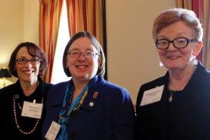 Kathy DeLaura, Kim Fender and Margaret Clark