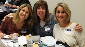 Michelle Kohn, Meryl Juran and Judith Kadetz