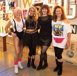 Heather Britt, Daphne Jurgensen, Julie Sunderland and Dr. Melissa Stewart