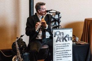 Local musician Jon Aiken