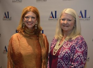 Honoree Heidi Jark with Nancy Purcell, Assistance League president