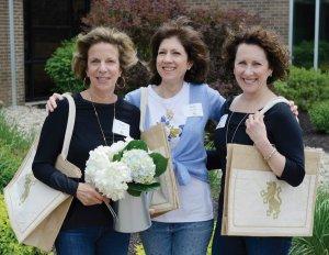Patti Schneider, Patti Heldman and Carol Kabel