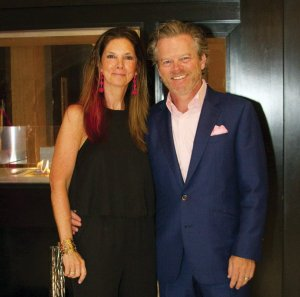 Foundation board member Michelle Jones and Kevin Jones of sponsor Huntington Bank