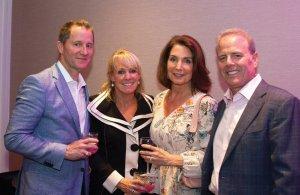 Host and hostess committee members Jim Sowar, Mary Carol Sowar, Laura Kitzmiller and Paul Kitzmiller