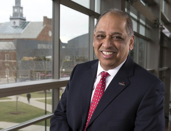Neville Pinto, Ph.D., president, University of Cincinnati