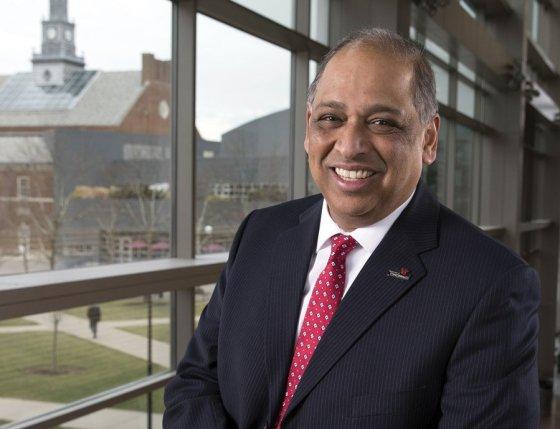 Neville Pinto, Ph.D., president, University of Cincinnati