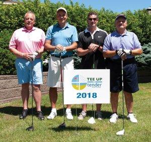 Tender Mercies Golf Brian Faulkner, Gary Faulkner, Allen Goss and Greg Logsdon of S.P.A. Inc.