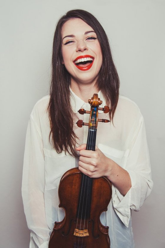 Violinist Tessa Lark (Photo: Lauren Desberg)