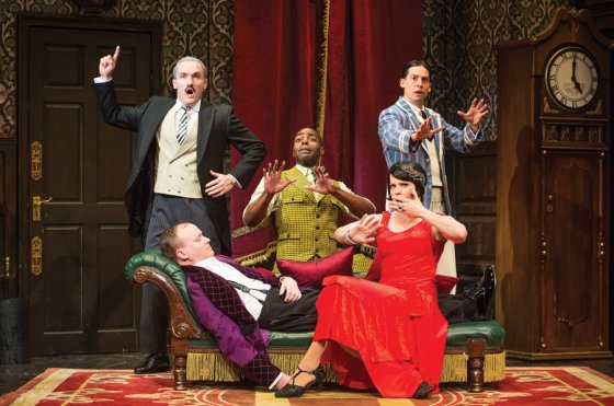 """The Play That Goes Wrong"" (Photo by Jeremy Daniel)"