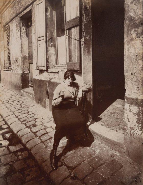 "Eugène Atget, ""Rue Asselin,"" 1921, courtesy of the Philadelphia Museum of Art"