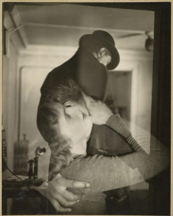 "Francis Bruguière, ""Couple Embraced,"" 1929, courtesy of the J. Paul Getty Museum"