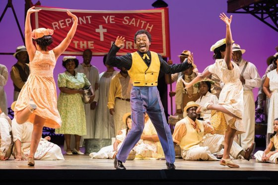 """Scene from the Seattle Opera production of """"Porgy and Bess"""""""