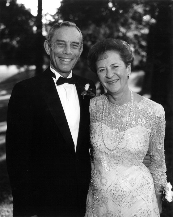Jack and Blanche Maier in 1987