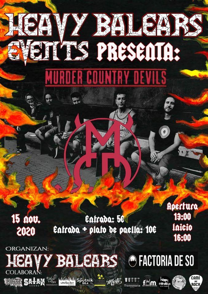 Heay Balears Events presenta: Murder Country Devils