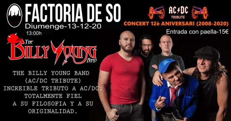 THE BILLY YOUNG BAND (AC/DC)
