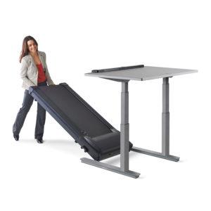 جهاز مشي مع طاولة مكتب كهربائية لايف سبان الأمريكية TR1200-DT7