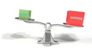 Income and expense scales, 3d