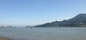 Danshui River view Taiwan