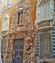 architecture spanish baroque spain valencia easy ceramics impressive museum above national
