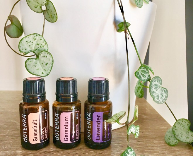 My favourite 3 essential oils to blend.