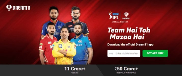 earn money by playing dream11