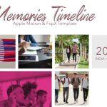 Memories Timeline -FCPX motion-テンプレート