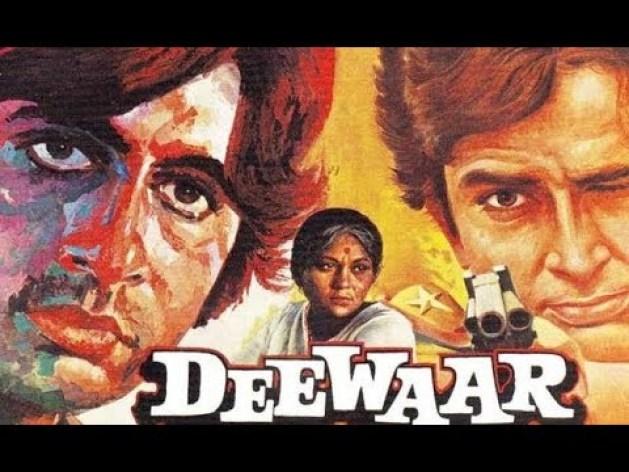 Deewaar - Top Bollywood Hindi Movies of All Time