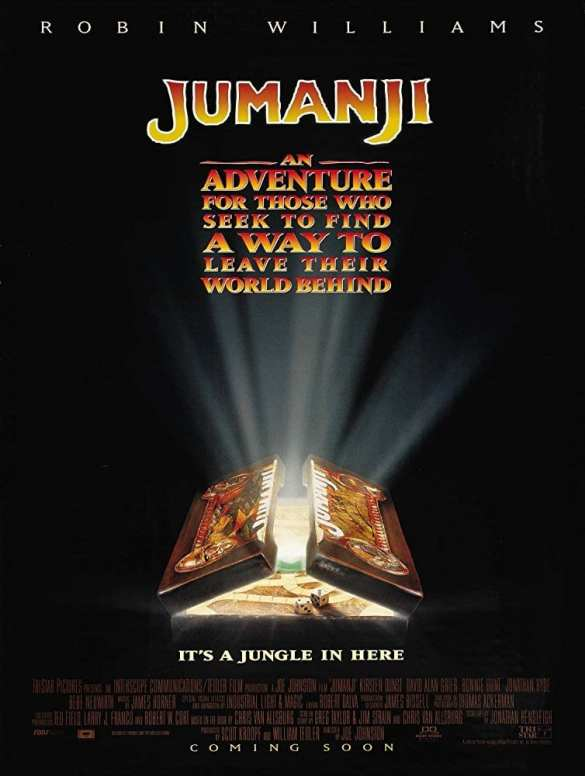 Jumanji - Road Trip Movie List