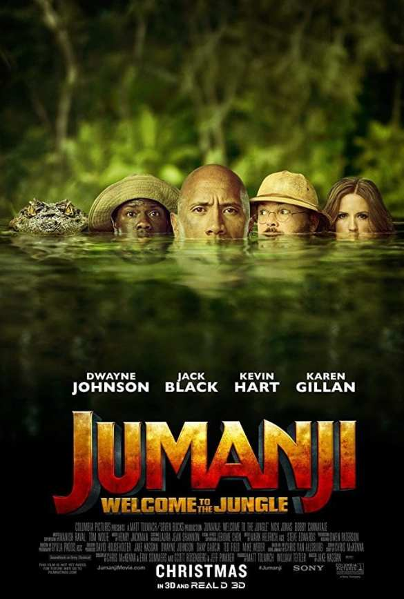 Jumanji2 - Road Trip Movie List