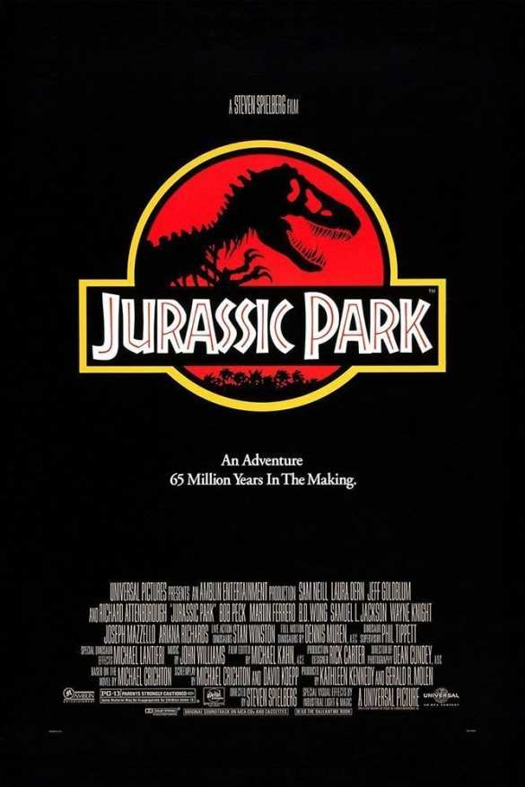 Jurassic Park - Road Trip Movie List