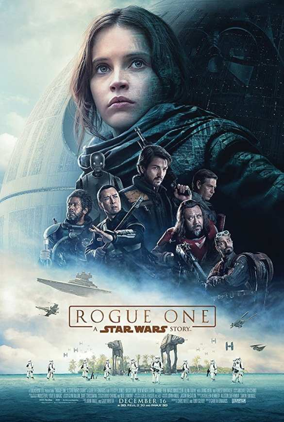 Star Wars Rogue One - Movie List