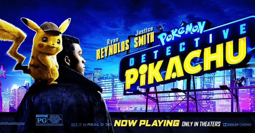 Film Review Pokemon Detective Pikachu 2019 Moviebabble
