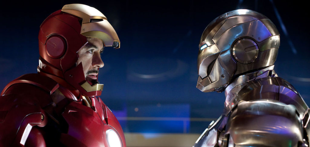 The adventures of Tony Stark continue in The Avengers and Iron Man 2.