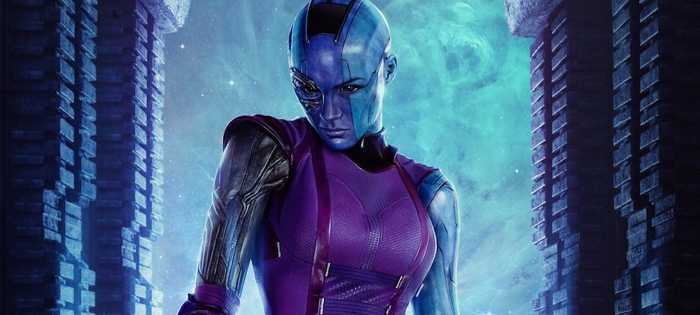 Nebula is played by Karen Gillan in the Guardians of the Galaxy movies and in the upcoming Avengers: Infinity War.