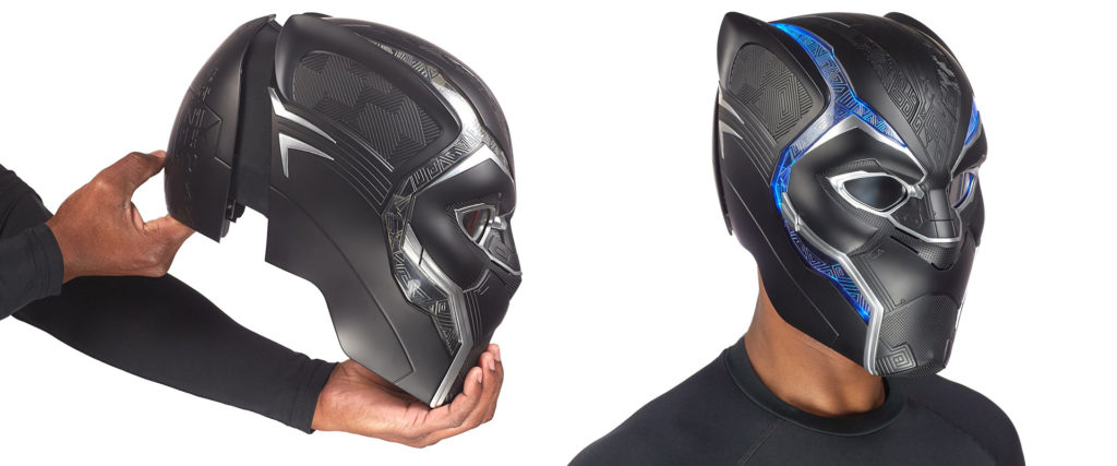 Toy Fair 2018 revealed a Marvel Legends Black Panther mask replica.