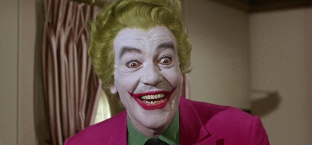 Cesar Romero refused to shave his mustache to play the Joker in the first ever Batman movie.