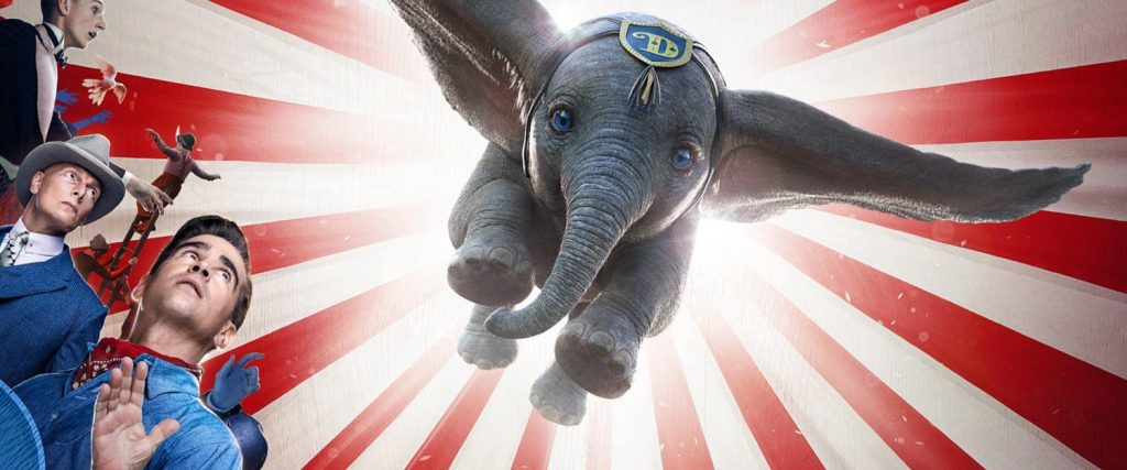 Watch the new live action Dumbo movie trailer for a look at the 2019 Tim Burton movie.